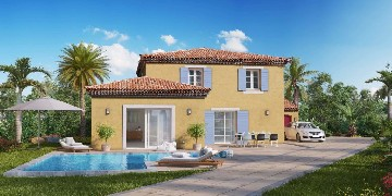 Villas with pool in Grimaud